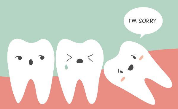 I denti del giudizio: quando e come intervenire