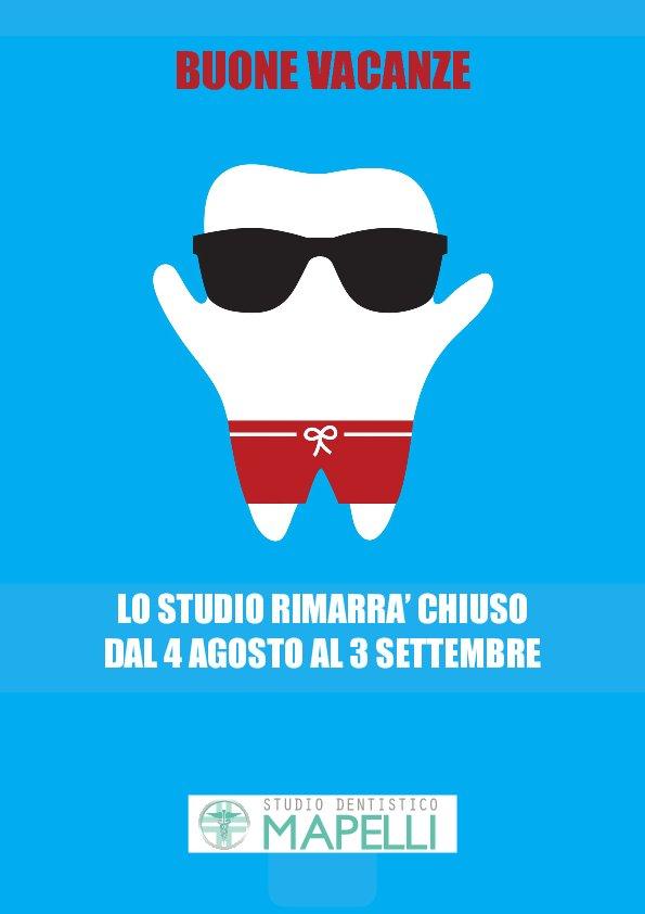 Chiusura studio dentistico